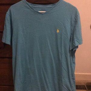 Teal Ralph Lauren Polo Shirt